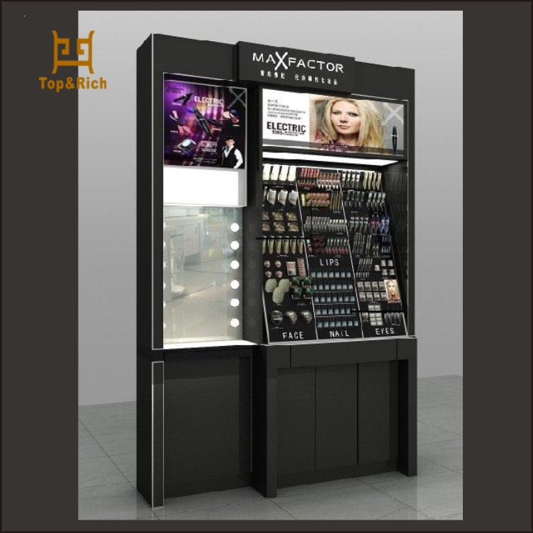 cosmetic display showcase