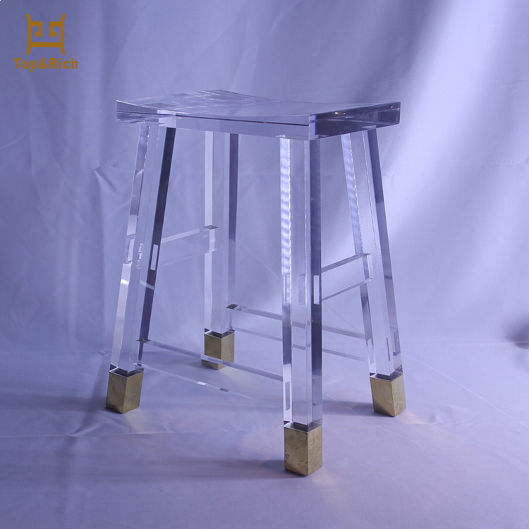 China Factory Modern Custom Lucite Tea Table Acrylic Side Table