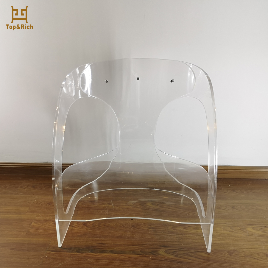 Leisure Modern Office Bulk Chairs Transparent Acrylic Chair